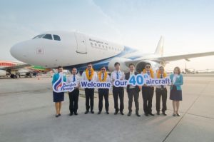 Bangkok Airways welcomes the 40th Aircraft to the fleet